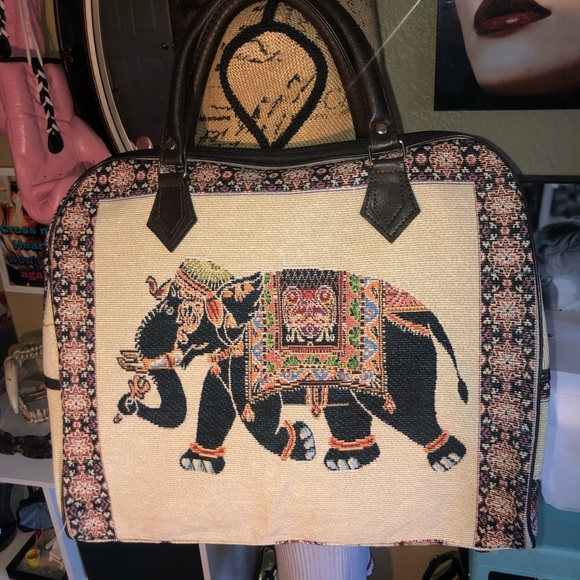Handbags - Gorgeous Indian Inspired Large Hand/Travel Bag